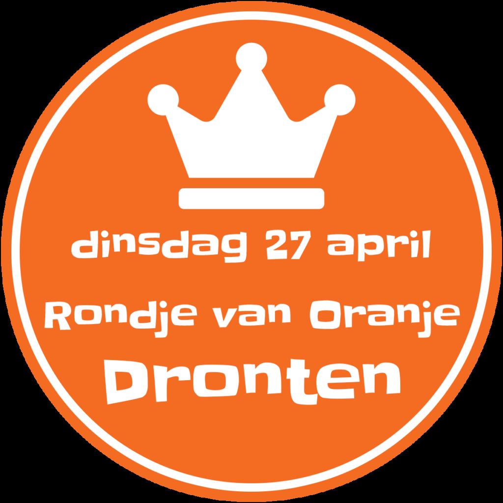 Rondje van Oranje - Koningsdag 27 april 2021 - Dronten